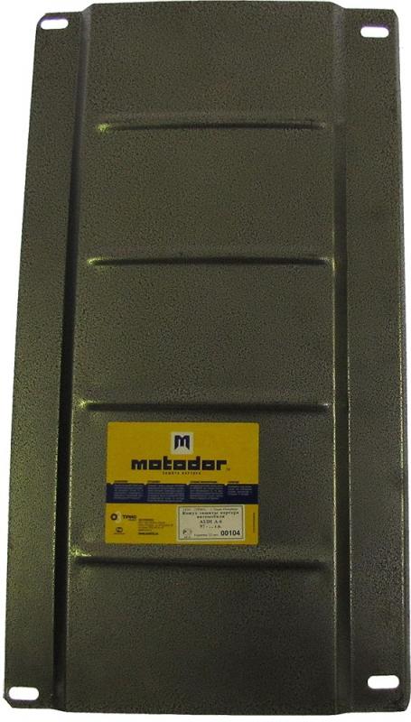 Защита картера КПП Audi A6 (4B,C5) 1997-2004 V=2.8 (сталь 2 мм), MOTODOR00104