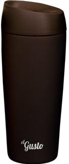 Термокружка el GUSTO Grano, черная, 470 мл, 110BB