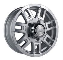Колесный диск LS Wheels LS 158 6.5x15/5x139,7 D98.6 ET40 серебристый полностью полированный (SF)