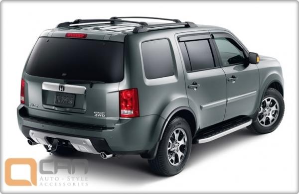 Пороги алюминиевые (Alyans) Honda (Хонда) Pilot (2008-2010/2010-), HOPL471059