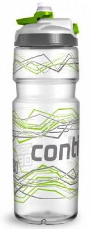Бутыль для воды Contigo Devon с носиком легкосжимаемая, серебристо-салатовая, 750 мл, 10000184