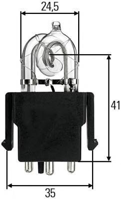Лампа, X1, HELLA, 8GS 859 634-001