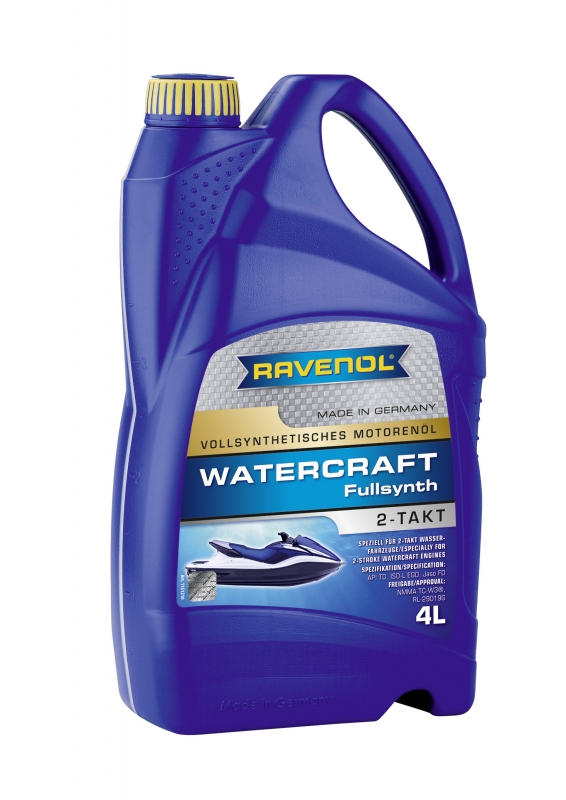 Моторное масло RAVENOL WATERCRAFT Fullsynth. 2-Takt, 4 л, 4014835727793