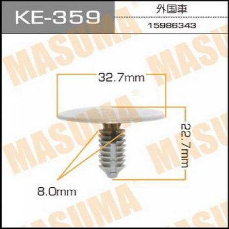 Клипса автомобильная (автокрепеж) MASUMA, KE359