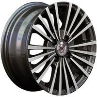 Колесный диск NZ SH582 5.5x13/4x98 D58.6 ET35 насыщенный темно-серый полностью полированный (GMF)