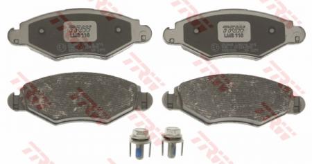 Колодки дисковые Передние, TRW, GDB1500