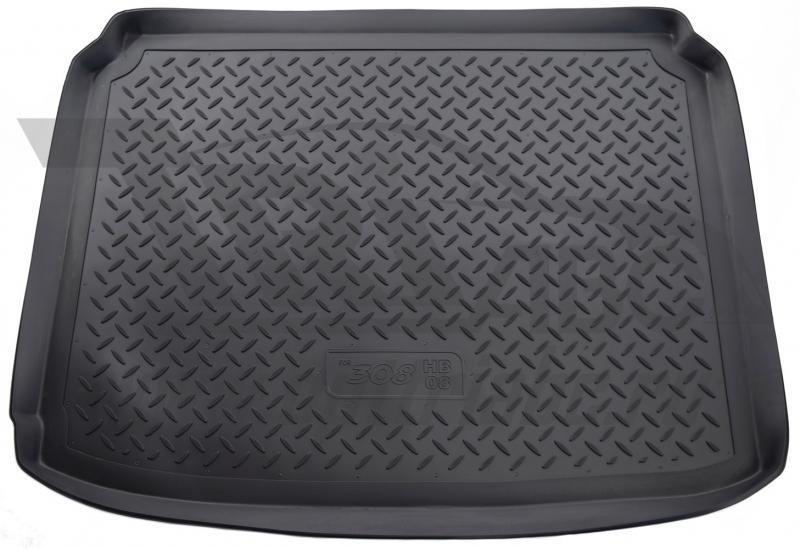 Коврик багажника для Peugeot (Пежо) 308 Хэтчбек (2008-), NPLP6438