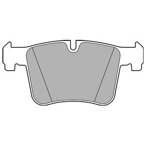 Колодки дисковые, DELPHI, LP2234