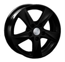 Колесный диск Ls Replica TY115 7x17/5x114,3 D71.6 ET39 чёрный с дымкой (MB)