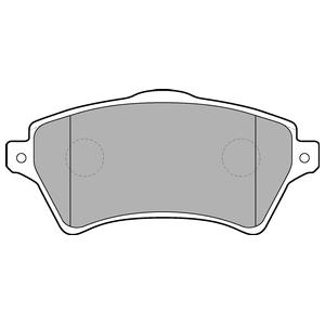 Колодки дисковые, DELPHI, LP1652