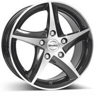 Колесный диск Enzo 115 dark 7x17/5x114,3 D71.6 ET40 черный полированный (BKF/P)