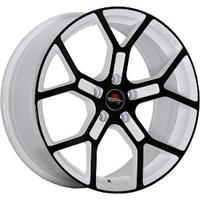 Колесный диск Yokatta MODEL-19 7x17/5x115 D63.3 ET45 белый +черный (W+B)