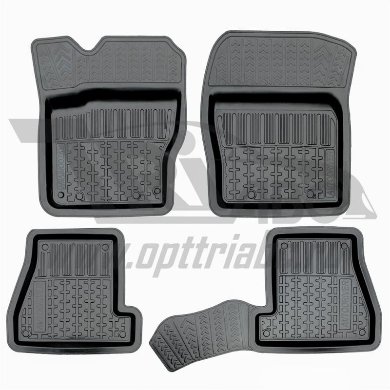 Коврики салона резиновые с бортиком для Ford Focus III(2011-), ADRPRO018