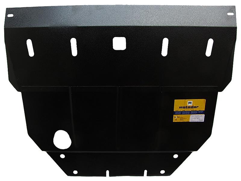 Защита картера двигателя, КПП Nissan X-Trail I 2001-2007 V= все (сталь 2 мм), MOTODOR01402