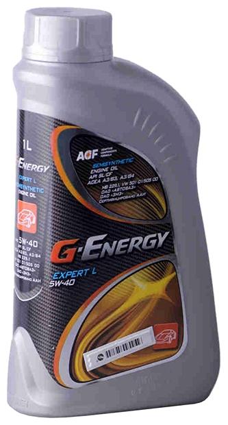 Моторное масло G-ENERGY Expert L, 5W-40, 1л, 4630002597503