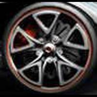 Колесный диск YST X-5 6.5x16/5x112 D72.6 ET33 серебристый с красной полосой по ободу (SRS)