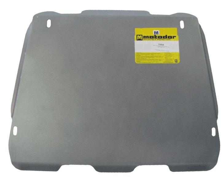 Защита картера ЗДФ CADILLAC CTS Coupe 2010- V=2,8, 3,7 (алюминий 5 мм), MOTODOR33505