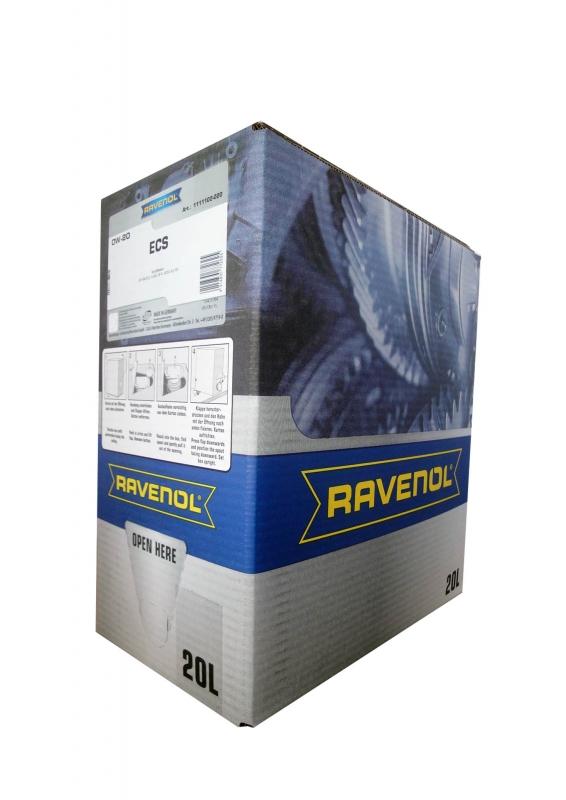 Моторное масло RAVENOL ECS EcoSynth, 0W-20, 20л, 4014835772625
