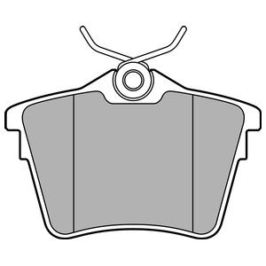 Колодки дисковые, DELPHI, LP1892