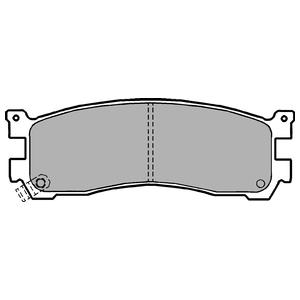 Колодки дисковые, DELPHI, LP1189