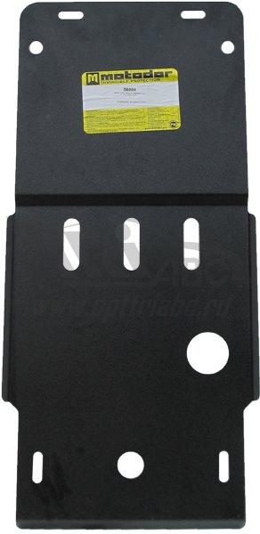 Защита картера КПП Infiniti G25 2010- Infiniti M25 2010- V=2.5 (сталь 2 мм), MOTODOR08004