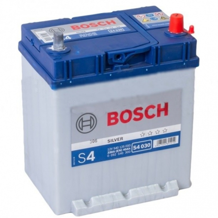 Аккумуляторная батарея Bosch S4 Silver, 12 В, 40 А/ч, 330 А, 0092S40300