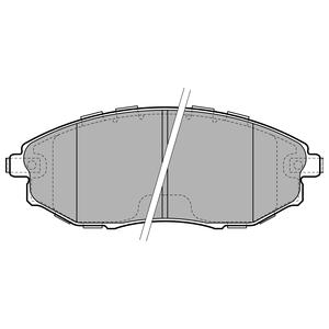 Колодки дисковые, DELPHI, LP2183
