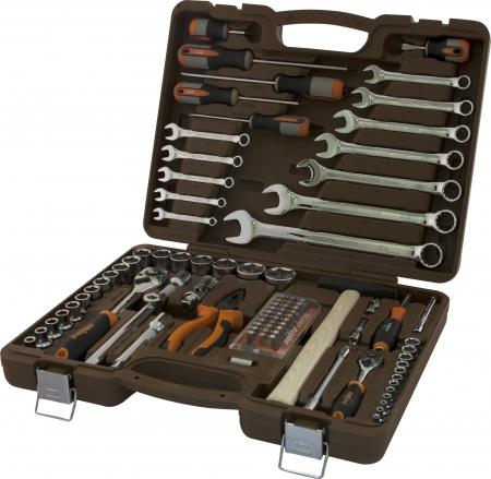 """Универсальный набор инструмента торцевые головки 1/4"""", 1/2""""DR 4-32 мм, аксессуары к ним, комбинирова"""