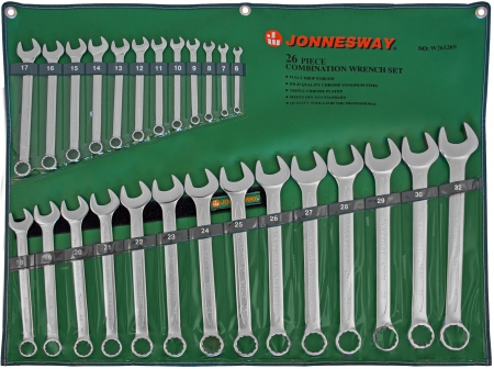 W26126S Набор ключей комбинированных 6-32 мм, 26 предметов