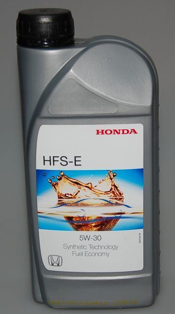 Моторное масло HONDA HFS-E, 5W-30, 1л, 08232P99D1HMR