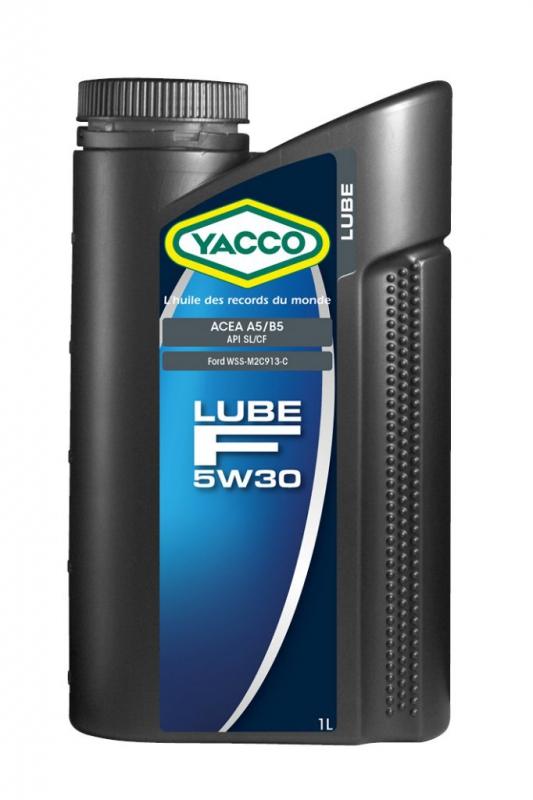 Масло моторное YACCO LUBE F синт. 5W30,SL/CF (1 л)
