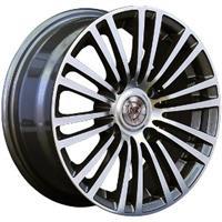 Колесный диск NZ SH581 5.5x13/4x100 D72.6 ET35 насыщенный темно-серый полностью полированный (GMF)