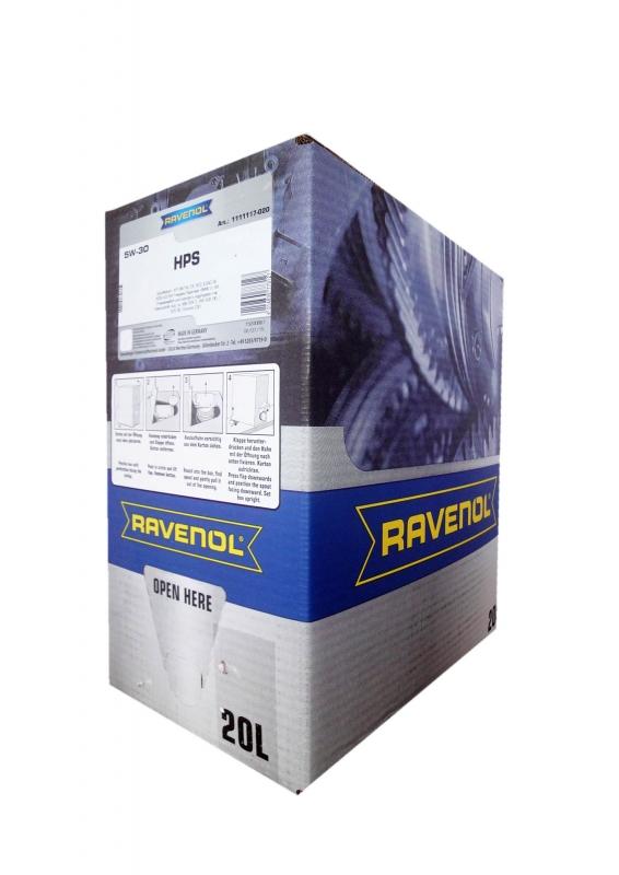 Моторное масло RAVENOL HPS, 5W-30, 20 л, 4014835773127