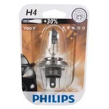 "Лампа ""Premium"", 12 В, 60/55 Вт, H4, P43t-38, PHILIPS, 12342 PRB1"