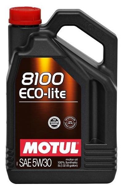 Моторное масло MOTUL 8100 Eco-lite, 5W-30, 5 л, 104989