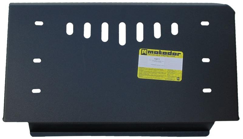Защита радиатора, рулевых тяг Land Rover Defender 110 1990- V=2,4TD (сталь 3 мм), MOTODOR13211