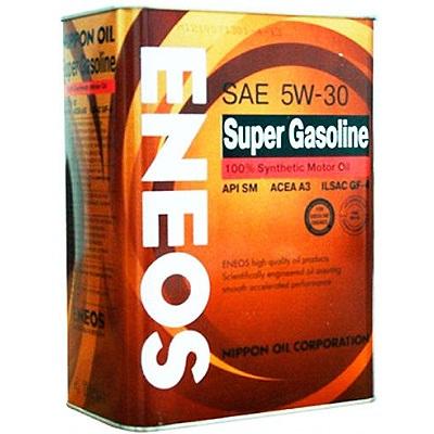 Моторное масло ENEOS Super Gasoline SM, 5W-30, 4л, OIL4070
