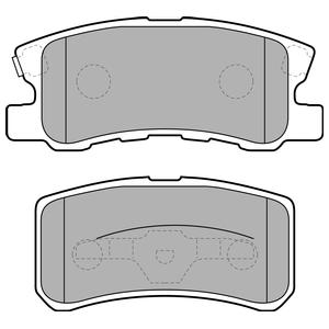 Колодки дисковые, DELPHI, LP1691