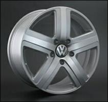 Колесный диск Ls Replica VW1 8x18/5x130 D63.3 ET57 черный матовый частично полированный (FGMF)