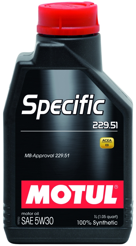 Моторное масло MOTUL Specific MB 229.51, 5W-30, 1л, 101588
