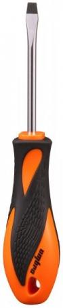 Отвертка BASIC шлицевая, SL5.5х75 мм, OMBRA, 555075
