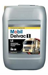 Моторное масло Mobil Delvac 1 LE, 5W-30, 20л