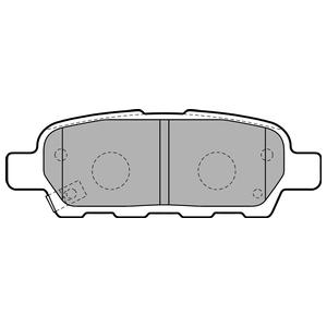 Колодки дисковые, DELPHI, LP1807
