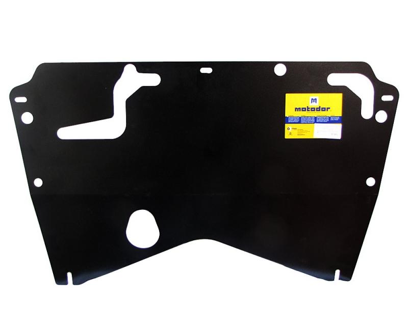 Защита картера двигателя, КПП Nissan Teana II 2008-2013 V=2,5 (сталь 2 мм), MOTODOR01443