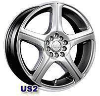 Колесный диск Asa US2 7x15/5x110 D73 ET35 ртуть