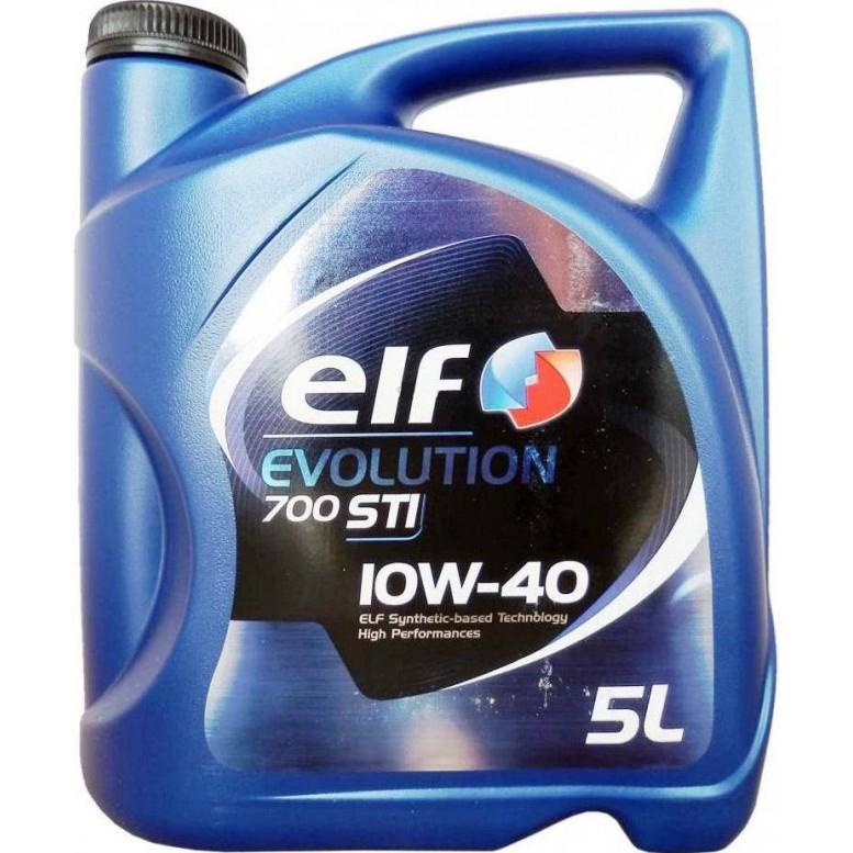 Моторное масло ELF Evolution 700 STI, 10W-40, 5л, 201554