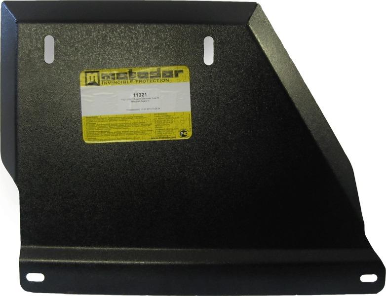 Защита картера РК Mitsubishi Pajero IV 2006- V=3,0, 3,8 (сталь 3 мм), MOTODOR11321