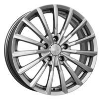 Колесный диск Кик АКЦЕНТ 7x17/5x112 D67.1 ET45 black platinum