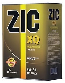 Моторное масло ZIC XQ, 5W-30, 4л, 163203