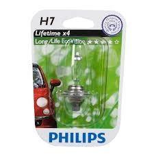 Лампа, 12 В, 55 Вт, H7, PX26d, PHILIPS, 12972 LLECOB1